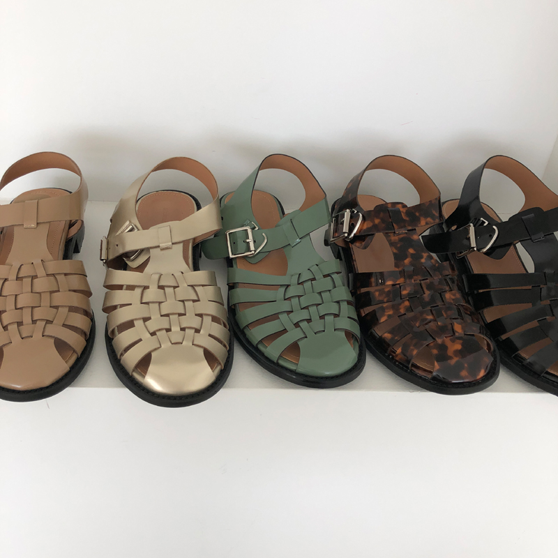 9-room-910 슈슈샌들 (5color)♡韓國女裝鞋