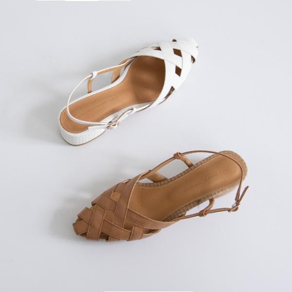 misscandy-[no.20571 네트짜임 스틸레토 통굽샌들]♡韓國女裝鞋