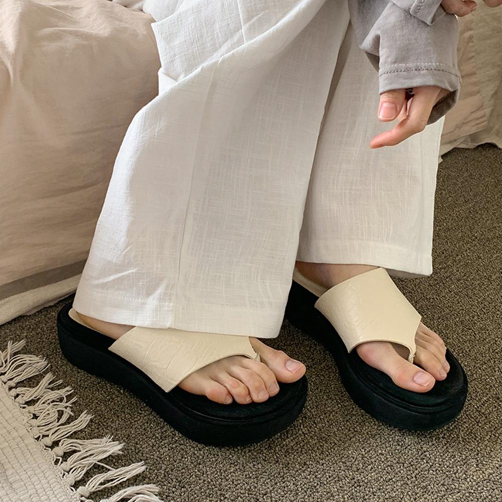 blackup-세렌티 플랫폼 쪼리♡韓國女裝鞋