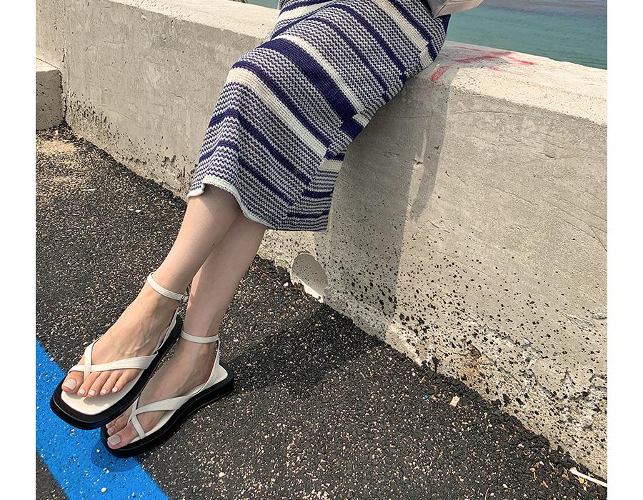 frombeginning-앵클 플랫폼플리플랍샌들 (2color)♡韓國女裝鞋