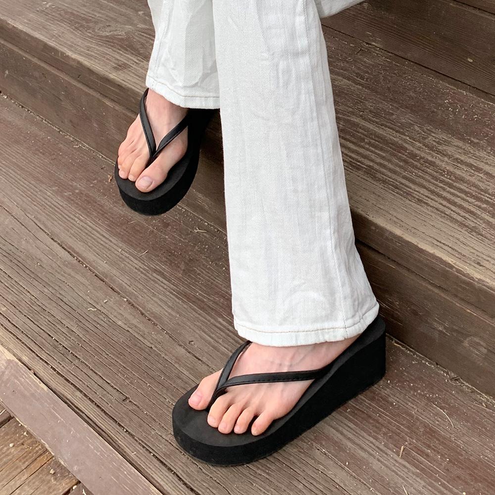 blackup-크크런 플랫폼 쪼리♡韓國女裝鞋
