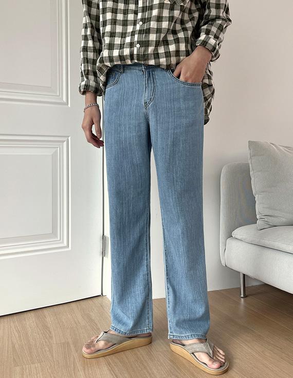 jogunshop-[버젠 린넨 세미 와이드팬츠S~XL(28~34)]♡韓國男裝褲子