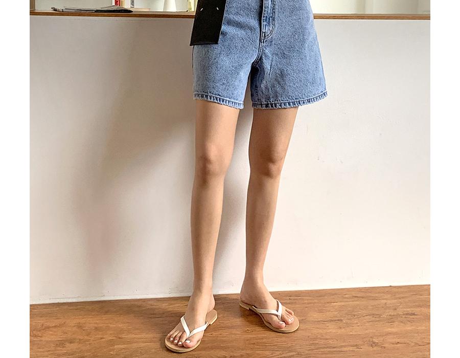 frombeginning-에브리데이 레더플리플랍 (8color)♡韓國女裝鞋