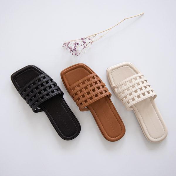 misscandy-[no.20578 네트짜임 볼드스트랩 샌들]♡韓國女裝鞋