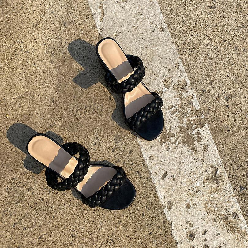 liphop-[로프스트랩뮬]♡韓國女裝鞋