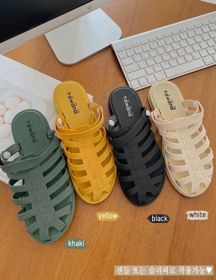 vinvle-카이고투웨이스트랩샌들♡韓國女裝鞋