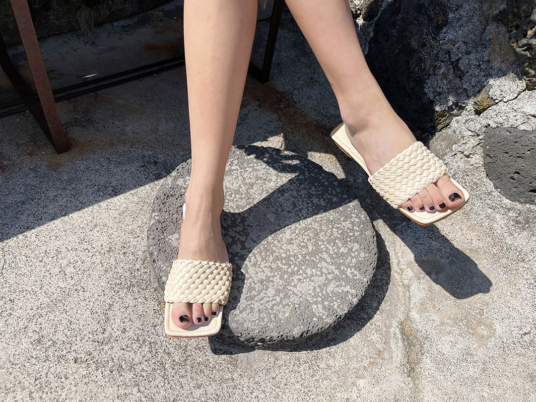 naning9-프엔터 슬리퍼(C06)♡韓國女裝鞋