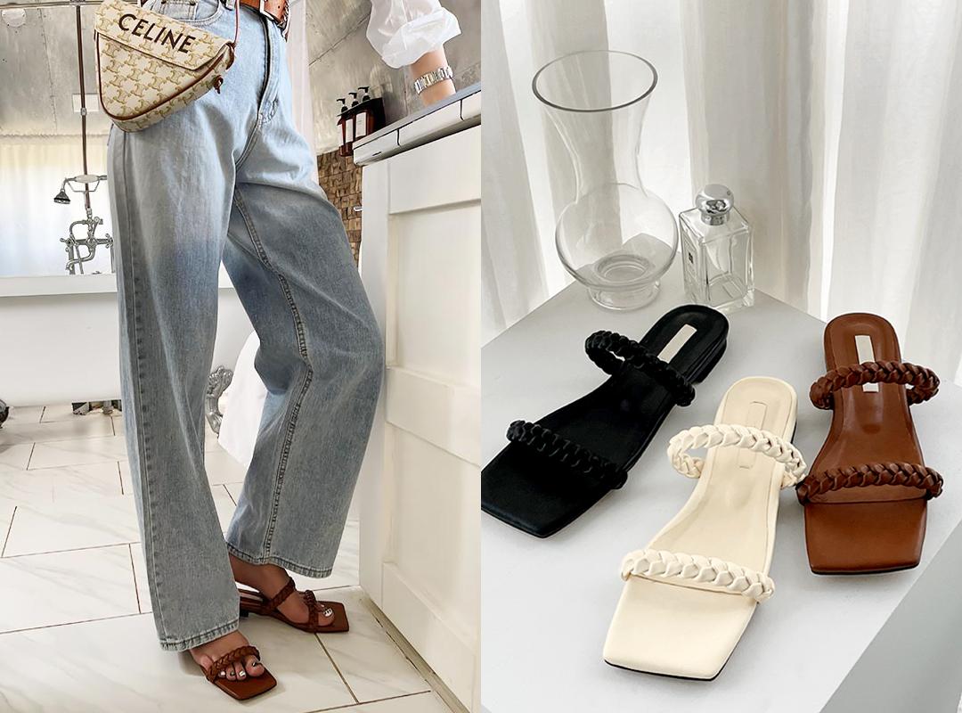 naning9-프첸모 슬리퍼(C06)♡韓國女裝鞋