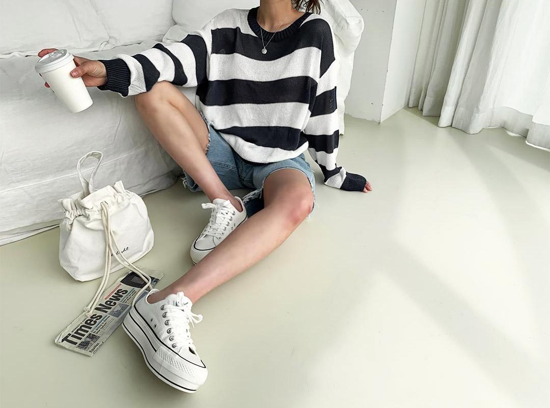 naning9-베온프 스니커즈(C06)♡韓國女裝鞋