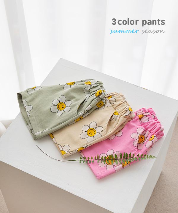 harukids-웃음꽃피는날팬츠[팬츠BDEF2]♡韓國童裝褲