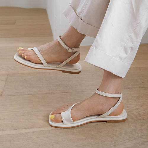 sappun-란시스 스트랩 쪼리 샌들 (1cm)♡韓國女裝鞋