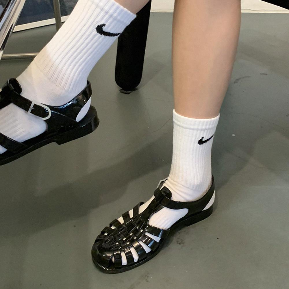 blackup-포롬파 젤리 샌들♡韓國女裝鞋