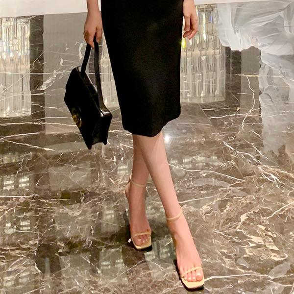 benito-로엔디 스트랩 샌들 5cm 신상/베스트/여성/데일리♡韓國女裝鞋