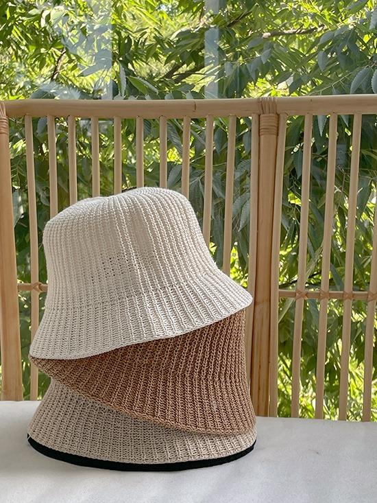 韓國merryaround編織漁夫帽