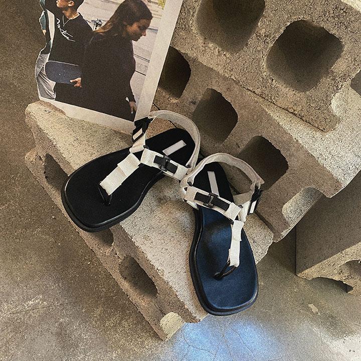 lagirl-벨크로쪼리샌들-shoes♡韓國女裝鞋