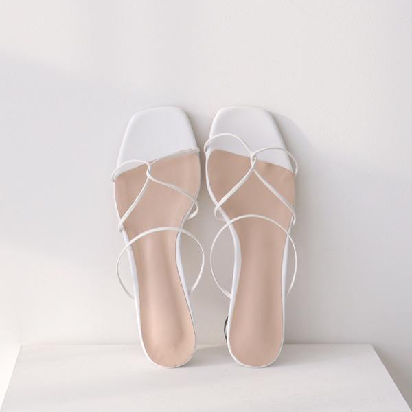 benito-젤디 엑스 꼬임 슬리퍼 (5color) 2cm♡韓國女裝鞋