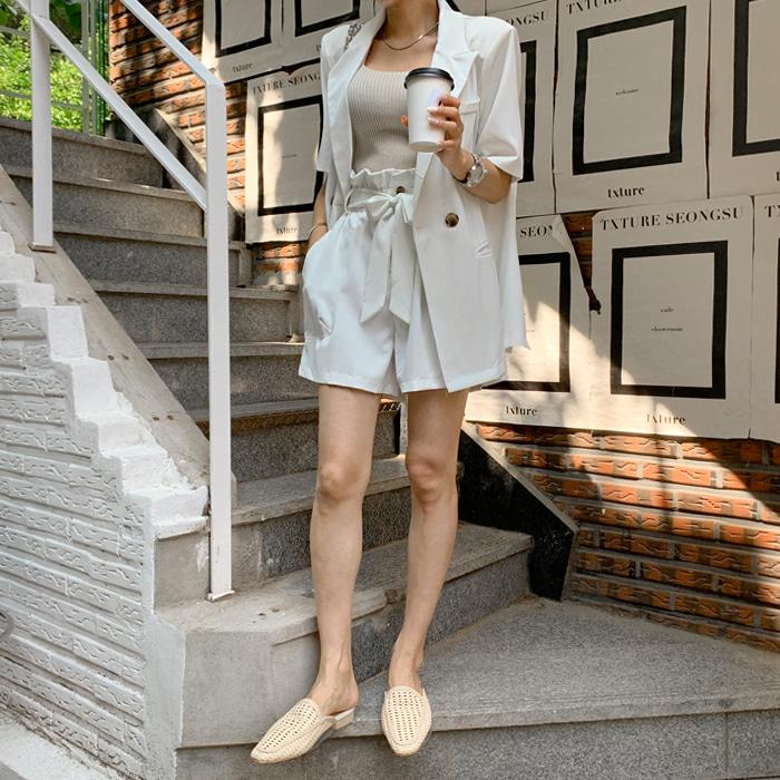 deepny-조인자켓팬츠SET♡韓國女裝褲