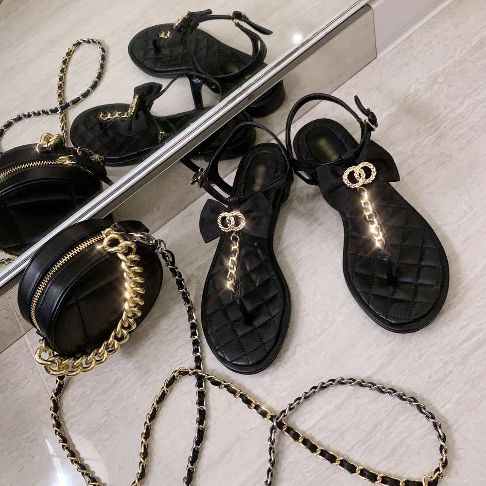 uinme-코코 샤 샌들 - 유인미코코 샤 샌들 - 유인미♡韓國女裝鞋
