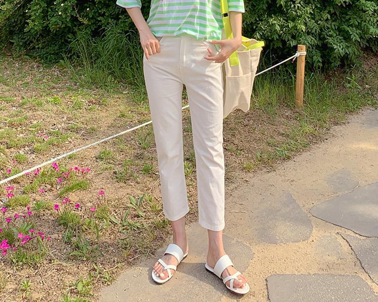 tomnrabbit-[*베이직여름팬츠[3color]]♡韓國女裝褲