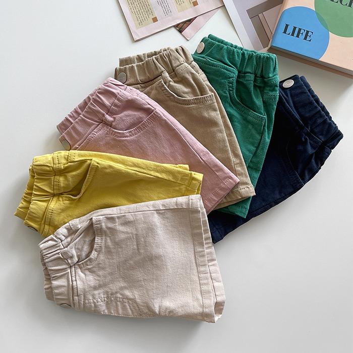 littlesmile-팝콘스판진♡韓國童裝褲
