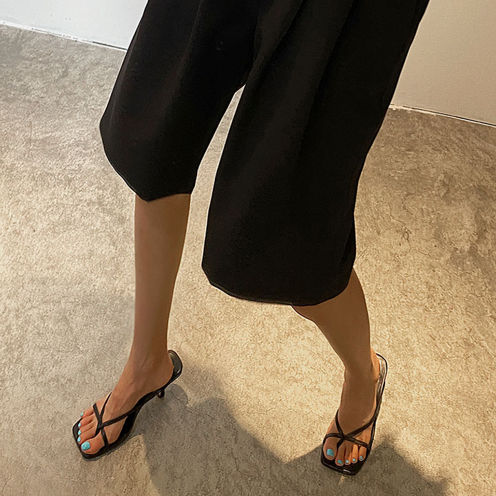 lagirl-슬림스트랩쪼리힐-shoes♡韓國女裝鞋