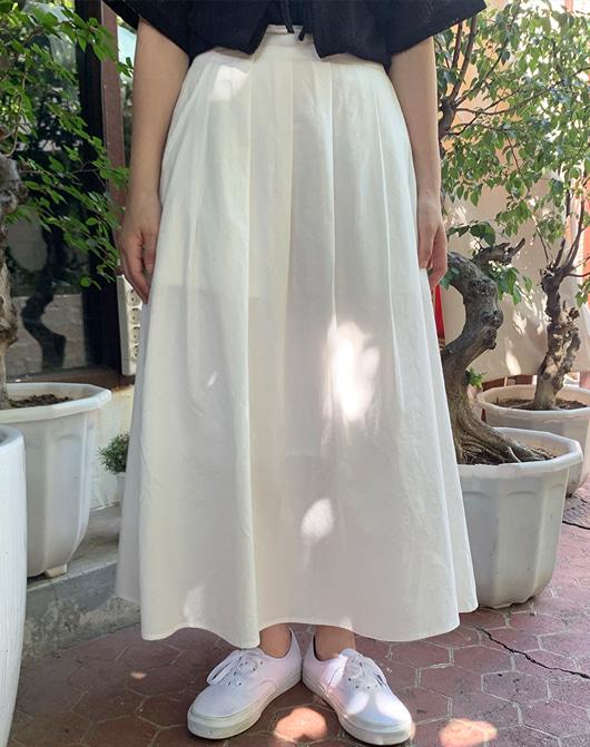 baon-[24시간 new 5% sale] 오나 플리츠 롱 스커트 (2color)♡韓國女裝裙