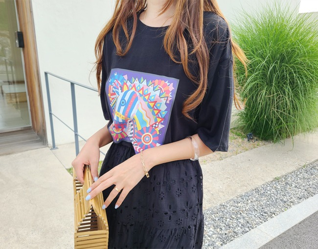 helloyoonsoo-트로이 롱티셔츠♡韓國女裝上衣