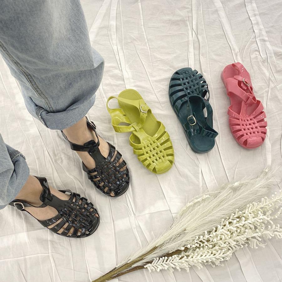 blancjo-젤리젤리 고무 샌들_ss03979♡韓國女裝鞋