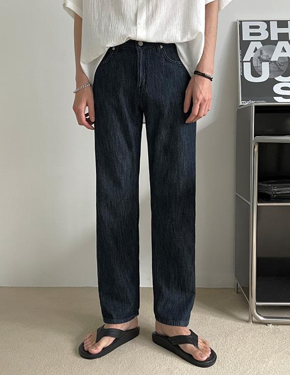 jogunshop-[제이든 린넨 데님 와이드팬츠S~L(28~32)]♡韓國男裝褲子