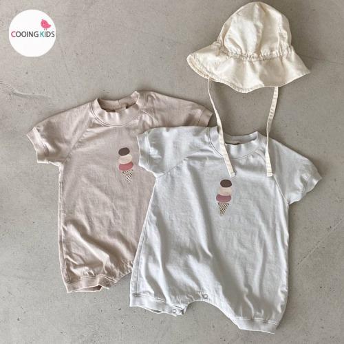 cooingkids-베이비옷 - H아이스크림슈트(모자별도구매!!)♡韓國幼兒裝