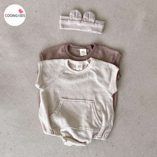 cooingkids-베이비옷 - H써니라글란슈트(헤어밴드별도구매!!)♡韓國幼兒裝