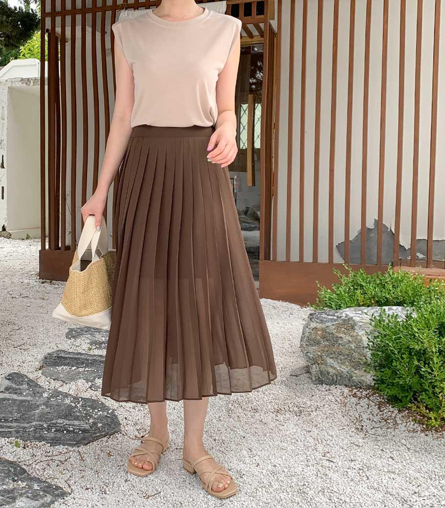 cocoblack-[로라 쉬폰sk]♡韓國女裝褲