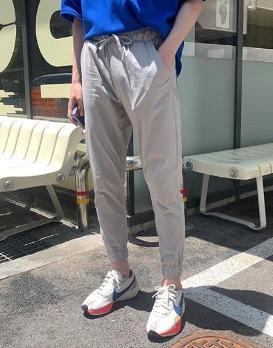 snipershop-린넨 여름 아이스 조거팬츠♡韓國男裝褲子