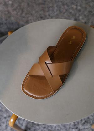annanblue-[크로스 mule(23일 PM5 5% 마감)]♡韓國女裝鞋