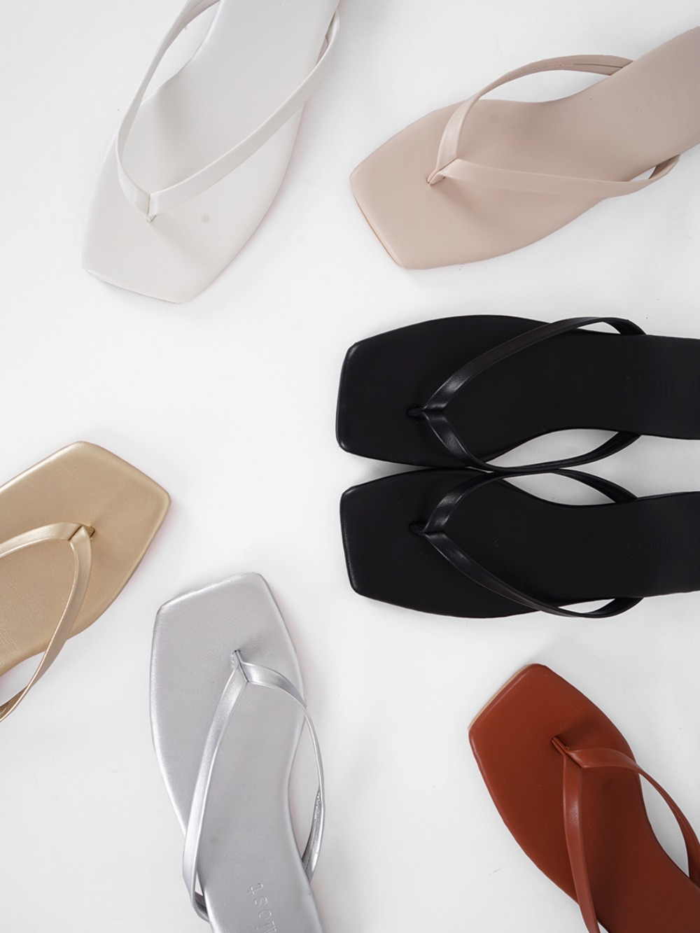 k-club-리먼트 스퀘어 쪼리♡韓國女裝鞋