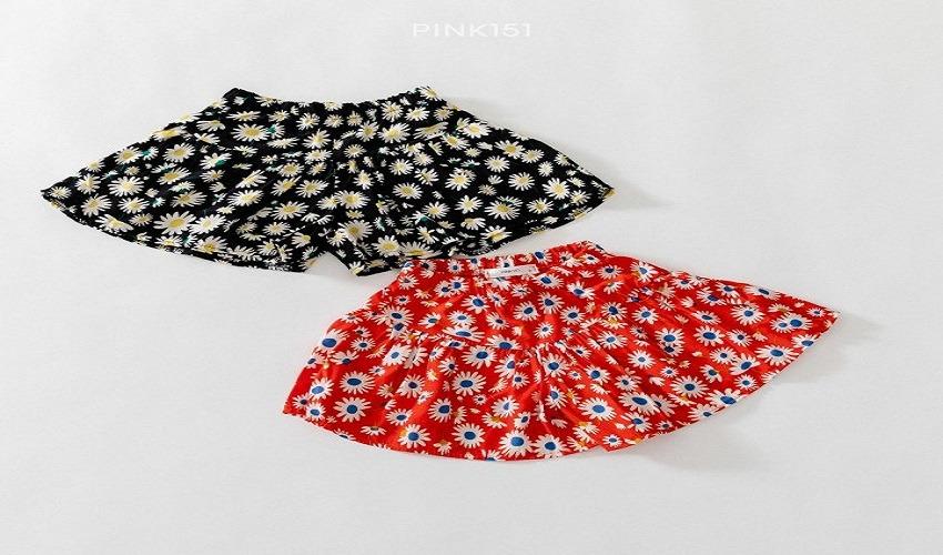 lovely2min-핑크151 데이지치마바지 (S~JL) - lovely2min♡韓國童裝褲