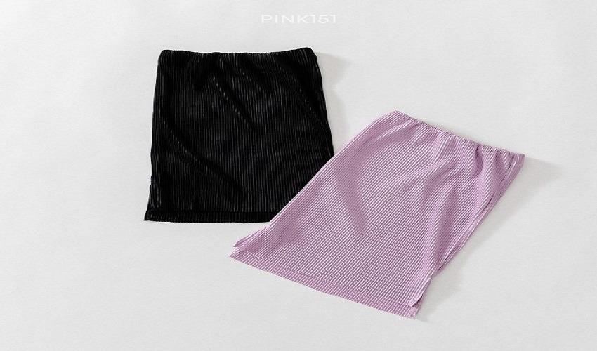 lovely2min-핑크151 찰랑스커트 (S~JL) - lovely2min♡韓國童裝褲