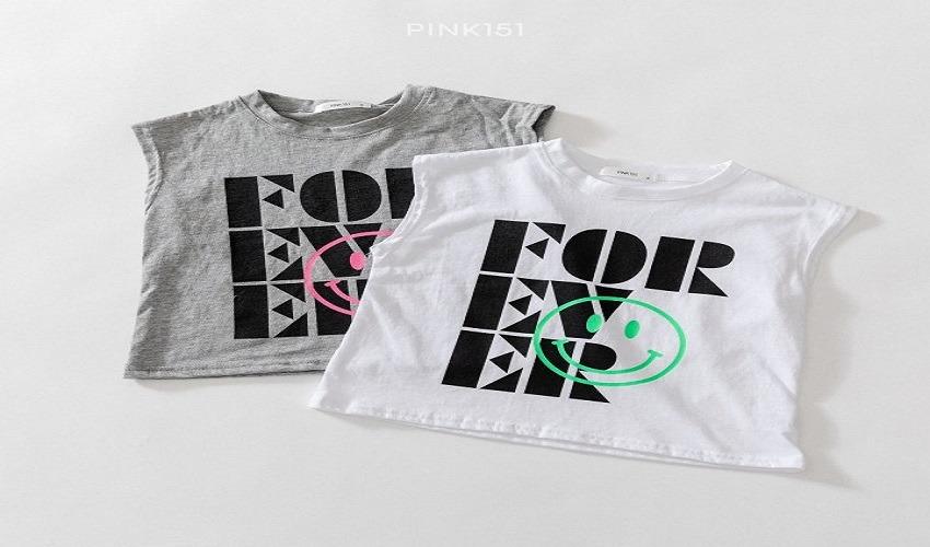 lovely2min-핑크151 포에버나시 (S~JL) - lovely2min♡韓國童裝上衣