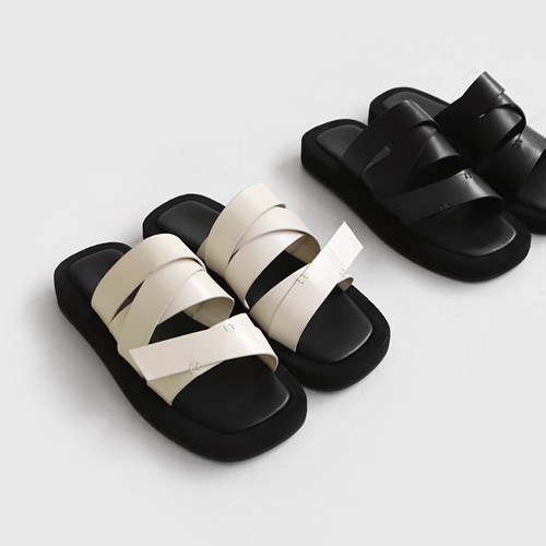 sappun-페넬로 스트랩 슬리퍼 (3cm)♡韓國女裝鞋