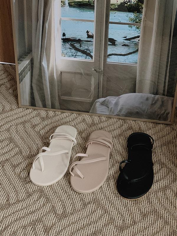 slowand-로크 slim sandals - 3 color♡韓國女裝鞋