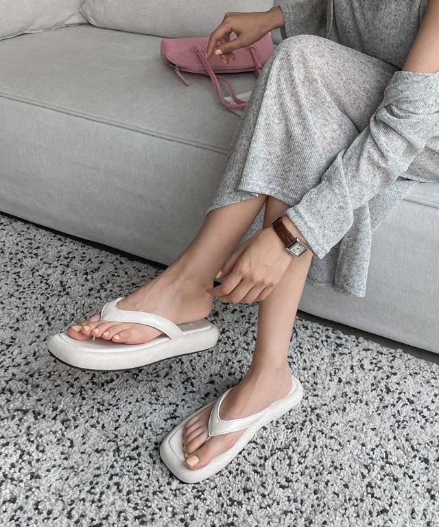loveloveme-허슬리 도톰플리플랍   럽미♡韓國女裝鞋