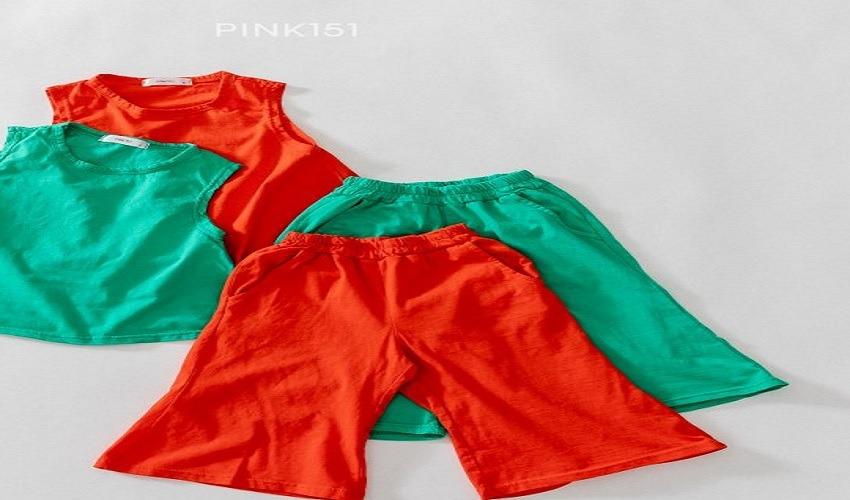 lovely2min-핑크151 플레어8부팬츠 (S~JL) - lovely2min♡韓國童裝褲