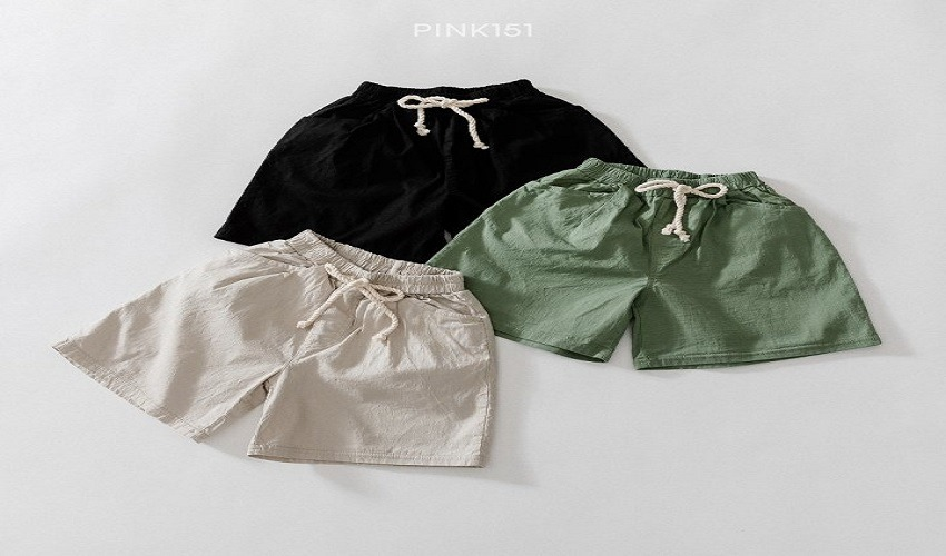lovely2min-핑크151 린넨반바지 (S~JL) - lovely2min♡韓國童裝褲