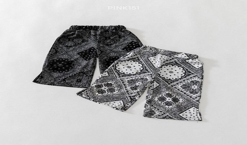 lovely2min-핑크151 페이즐쿨링팬츠 (S~JL) - lovely2min♡韓國童裝褲