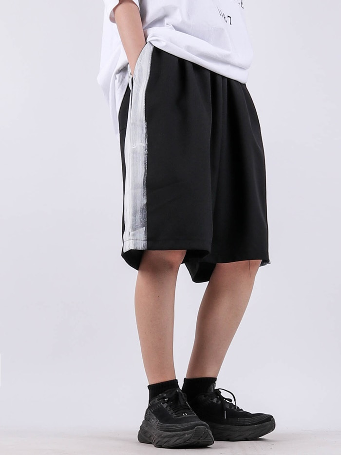 justyoung-AL painting shorts (2color)♡韓國男裝褲子