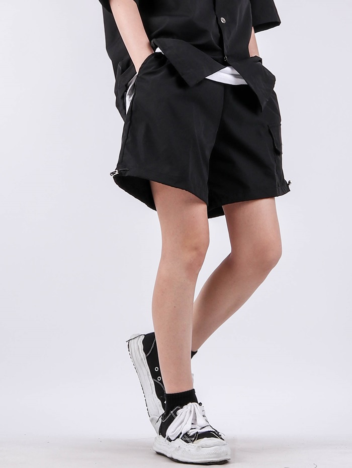 justyoung-PG Setup Daisy Shorts (3color)♡韓國男裝褲子