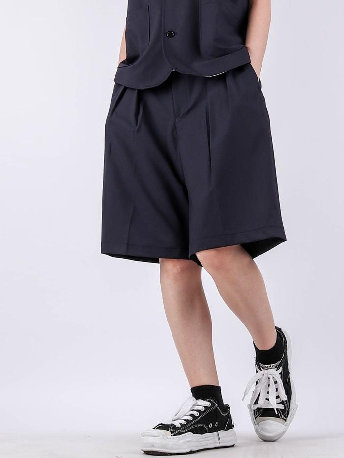justyoung-TS Bermuda Setup Shorts (2color)♡韓國男裝褲子