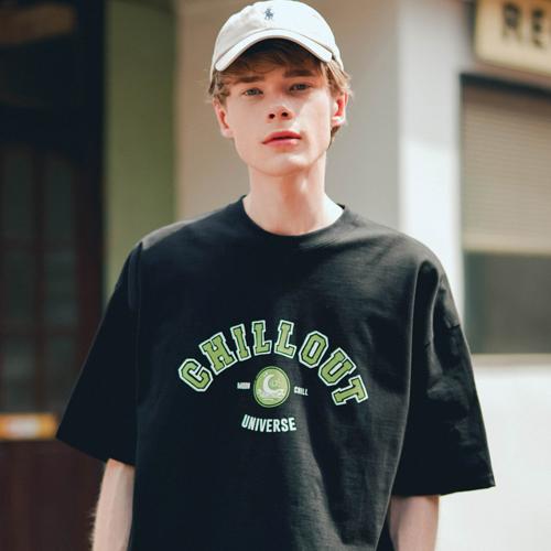 fairplay142-[[티떠블유엔] 칠링 반팔 블랙 EYST3386]♡韓國男裝上衣