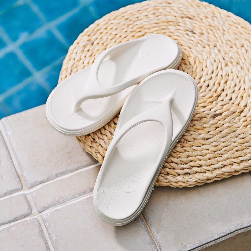 韓國FILA SUFFY THONG 拖鞋 (白色)