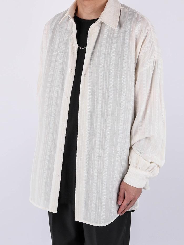 justyoung-MU Lay Shirt (2color)♡韓國男裝上衣